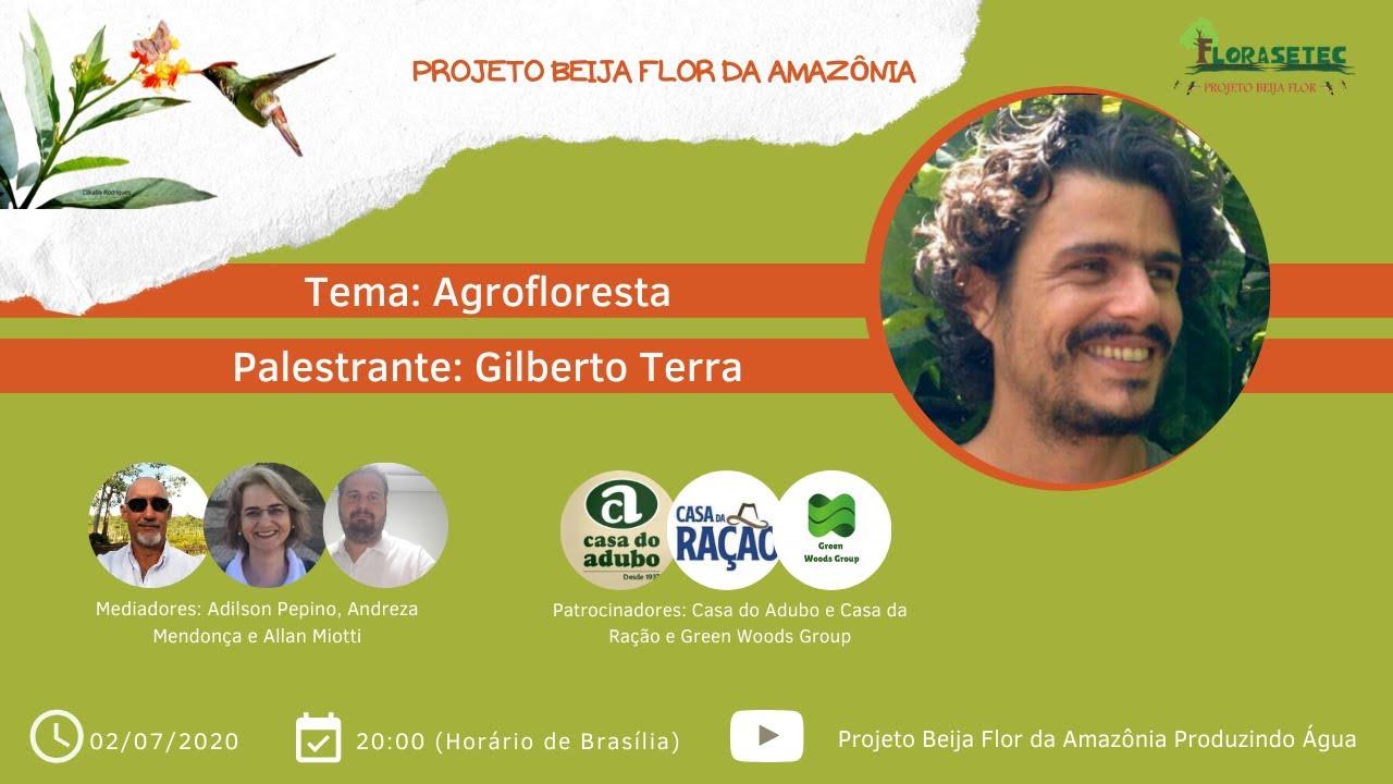 Live – Projeto Beija Flor / Agrofloresta