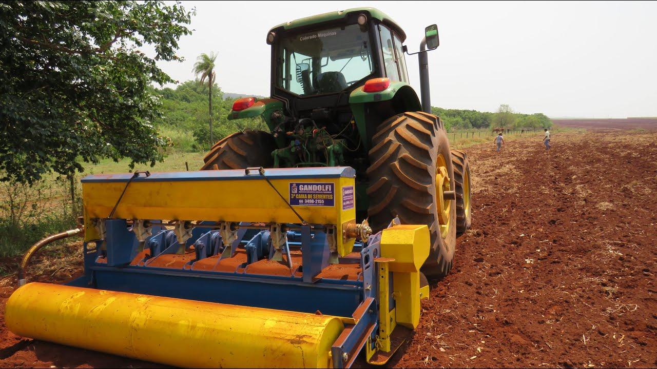 Agricultura Sintrópica mecanizada em larga escala